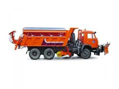The machine combined road harvest 69280H (MKDU-1