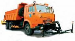 The machine the combined DMK-40-02 (KAMAZ-53229
