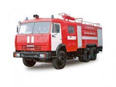 Tanker fire ATs-8-40 (KAMAZ-53229 chassis 6х4)