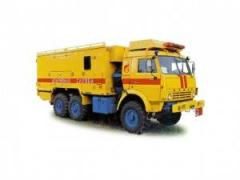 Rescue machine ACM-41-07 (KAMAZ-43114 chassis 6х6)