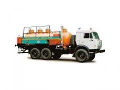 AMZ-6,6 oil servicing truck (KAMAZ-43114 chassis