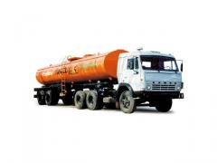 Oil-carrier 9638-01 (KAMAZ-54115 tractor 6х4)