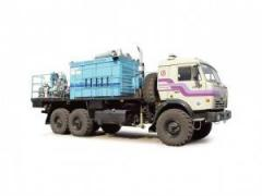 PNU-2 portable pumping unit (KAMAZ-43118 chassis