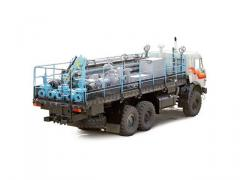 NTM-1 pumping transport vehicle (KAMAZ-43118
