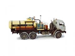 Installation for acid processing of wells of