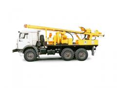 URB-2A2D exploration drilling rig (KAMAZ-43114