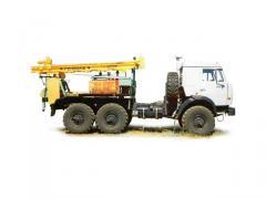 LBU 50-05 drilling rig (KAMAZ-43114 chassis 6х6)