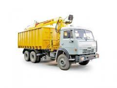 Автомобиль-металловоз 54023 (шасси КАМАЗ-5322