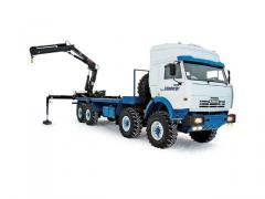 Autocontainer carrier 67186 (KAMAZ-63501 chassis)