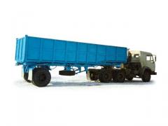 Road train chip carrier 9308-010 (KAMAZ-54115