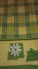 Printed sheeting fabric