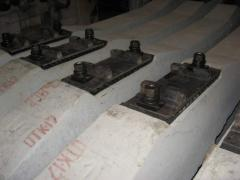 Reinforced concrete cross ties of the Sh-1-1