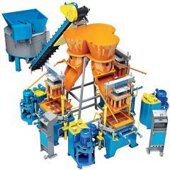 Мини завод по производству кирпичей