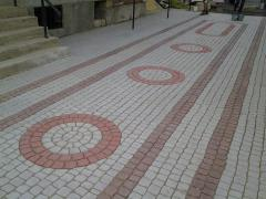 Concrete stone blocks