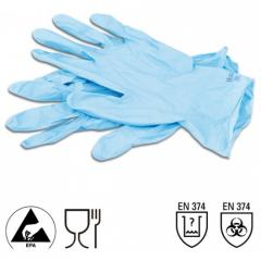 Gloves are one-time, from dermatril