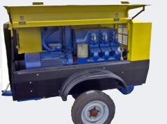 PKSD-5,25DM, Compressor stations