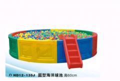 The pool under balls round HD12-135J