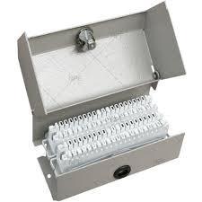 Распределительная коробка (металлическая) на 20