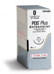 PDS* PLUS (Полидиоксанон с антисептическим покрытием)