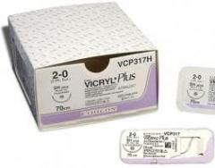 VICRYL (Викрил)* PLUS (Пролиглактин 910 с антисептическим покрытием)