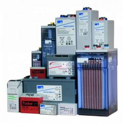 Rechargeable batteries of EXIDE-technologies