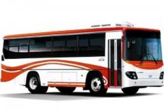 Амортизатор задний ОЕМ 9090-0020 на автобус Daewoo BS090