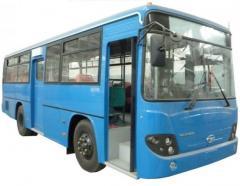 Лобовое стекло левое 9090-1270  на автобус Daewoo BS090
