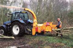 Chipping machine of Jensen (Wood grinder)
