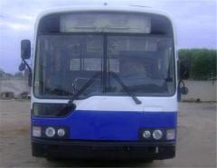 Шкив коленвала Б/У5540-3850 на автобус Hyundai aero h540