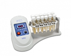 The mini-rotator for vakutayner and test tubes of