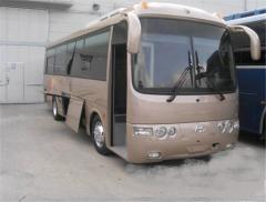 Рессор коренной задний 5520-2750 на автобус Hyundai aero town