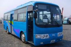 Рулевые тяга продол новые модель №1 5520-2810 на автобус Hyundai aero town