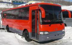 Фильтр воздушный маленкий 4200-1680 на автобус KIA Cosmos