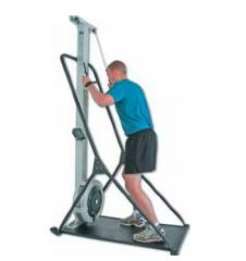 The ski exercise machine with the RMZ computer