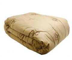 Одеяло из натуральной верблюжьей шерсти...