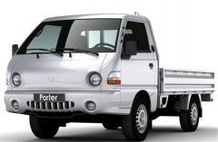 Тяга рулевая под колонки с 2 х крестовиной 5500-1510 на грузовик Hyundai porter