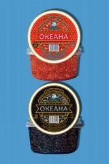 Caviar alginic