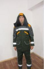 Suit winter Road builder