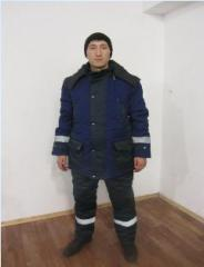 Suit winter Driver