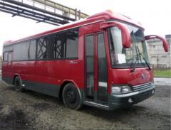 Рулевые тяги продольные №1 старой модели 4200-1460 на автобус KIA Cosmos