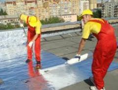The waterproofing is roofing, thermal insulation,