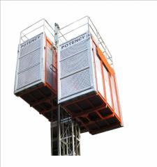Строительные лифты, Лифты строительные мачтовые