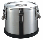 Tank thermos with the ground-in cover, 50 liters