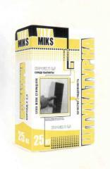 Plaster mix Decorative mineral (Bark beetle 2,5mm)