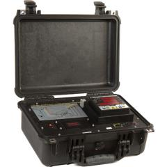Portable analyzer of quality of the electric power