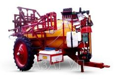 Field semitrailer sprayers
