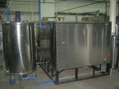 Комплексный охладитель холодной воды  на 4т