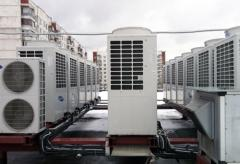 Installations for air conditioning