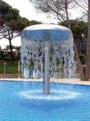 Водопад для бассейна Гриб Flexinox (Испания)