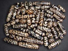 4 glazy bead of Dza